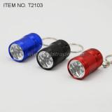 6 LED Flashlight with Keyring (T2103)