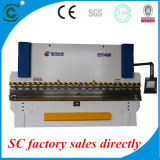 double sevo hydraulic cnc press brake with TP10 comntrol system