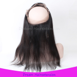 360 Lace frontal with real virgin hair quality 18inch