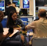Customer at Exhibition