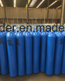 GB5099 high pressure 40L oxygen gas cylinder