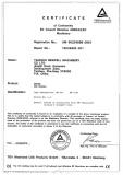 Air Die Grinder CE certificate