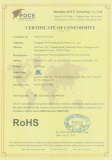 blowers Rohs certificate