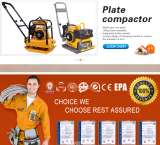 Plate Compactor Construction Machinery