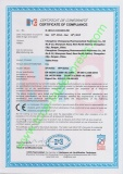 Update CE Certificate for Our Tablet Press Machine