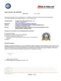 TUV SGS Report