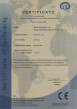 CE Certificate of DIN580 Eye Bolt