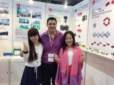 Electronic Exhibition in HongKong with capacitor customer [Apr..,11~14,2015]