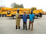 African customer visit