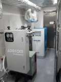 Rotary Scroll Air Free Air Compressor Installed in HK 2015