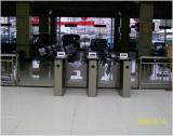 stainless steel turnstile for railway station