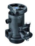 Manual water softener valve