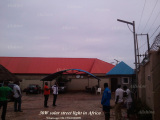 Our Projects of 80W Integrated Solar Street Light in Africa