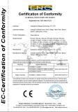 CE certification of towel warmer