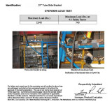 Test Report Of Side Bracket