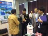 Attending the Qingdao Rubber Machine Trade Fair
