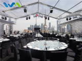 12x15m Party Tent for wine festival in Peninsula Shanghai