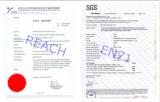 REACH &EN71 testing certificate for plush stuffed toy