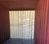 Corner mesh loading