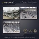 Steel Q235 Street Lgiht Pole HDG 2mm-5mm