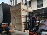 load to container of paper folding machine