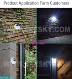 Sresky Wall Light Series Project and Case