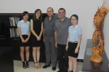 Dubai Client′s Visit to Chuangda Office Furniture