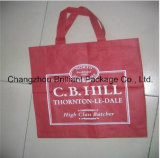 Reusable and Portable Non-Woven Shopping Flag Bag