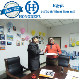 Egypt wheat mill client