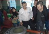 Foreign client visit zhongya valve co.,ltd