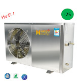Stainless Steel En14511 Tested by TUV 9kw high cop low noise heat pump