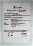 CE Certificate of Proximity Switch Sensors and Photoelectric Switch Sensors