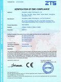 HT380A CE Certificate