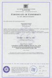 CE Certificate for S-700-... Switching Power Supply