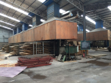plywood hot pressing