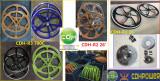 26′/700C mag/Aluminum wheels