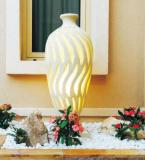 Garden Statue Sandstone Resin LED Light Sculpture