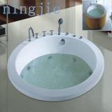 Hotel bathroom round whirlpool massage bath tub