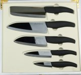 5pcs Mirror Blade Ceramic Knife Set