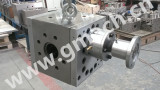 extrusion melt gear pump