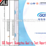 SGS from Guangzhou Test Report of Our Products