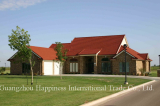 Stone coated metal roof tile project