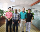 A new customer from Egypt visited our factory on Jan. 05.2016