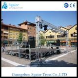 Stage lighting aluminum truss Sgaier Truss background truss