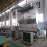 Vanillin boiling bed drying production line