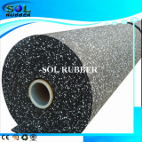 Fire Resistance Commercial Gym fitness Rubber flooring