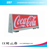 BST developed new design of P5 & P2.5mm double-sided taxi top led display panel