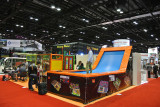 IAAPA Orlando in Nov. with indoor playground and children trampoline