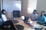 Shine Dew Overseas office meeting with our customer in Pakistan