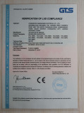 CE certification for electric DC hub motor
